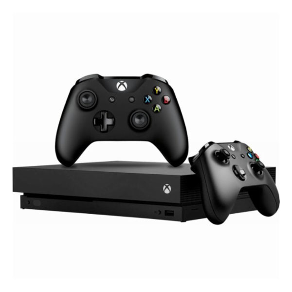 Microsoft - Xbox One X with Controller